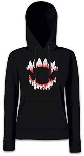 Hoodie Con Dentition Para Sudadera Vampire Mujer Capucha Axwa5gxfq