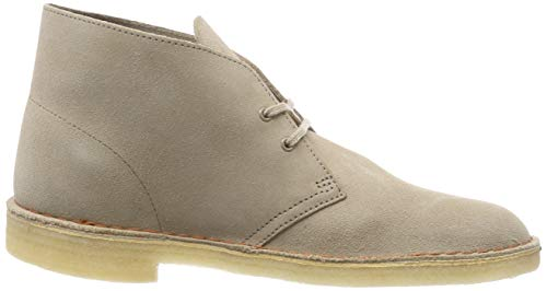 Clarks Originals Suede Desert Uomo Beige Boot Polacchine Sand 7f76pqwx