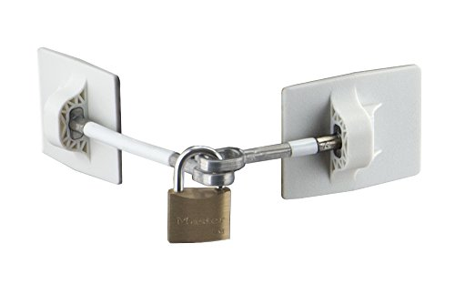 Hook Lock Pick (Refrigerator Door Lock with Padlock - White)