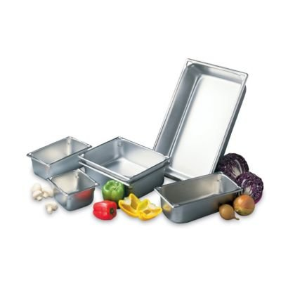 """Vollrath (30022) 2-1/2"""" Deep Super Pan V Stainless Steel Full-Size Steam Table Pan"""