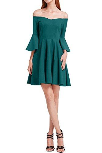 Damen Chiffon Linie Partykleid U Festkleid Ivydressing Ausschnitt A Promkleid Modern Blaugruen Abendkleid dqxIZx6w