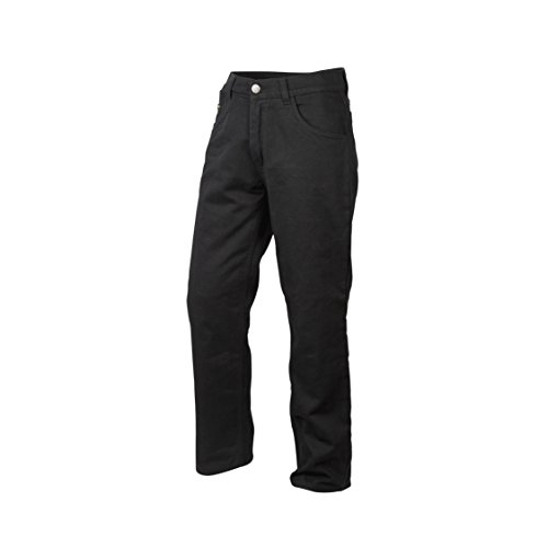 ScorpionExo Covert Jeans Men's Reinforced Motorcycle Pants (Black, Size 36)