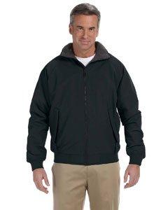 Devon & Jones Men's Three-Season taslon nylon shell Classic Jacket - Large - BLACK