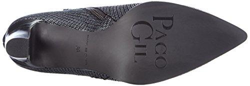 Paco Gil P2950 - botas de cuero mujer gris - Grau (Argento)