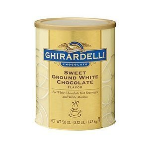 e Sweet Ground White Chocolate Powder, 50 ounce (Pack of 1) (Sweet Ground White Chocolate)