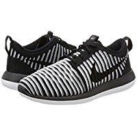Nike Kvinders Roshe To Flyknit 365 Ankel-high Fashion Sneaker Sort / Sort-hvid-cool Grå GIT8DTaQ63