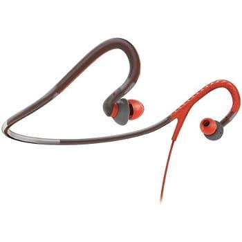 Philips SHQ4200/28 Sports Neck Band Headphones (Orange and Grey)