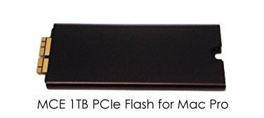 1TB PCIe-Based 4 Lane (x4) SSD Flash Drive Upgrade for Mac Pro (Late 2013)