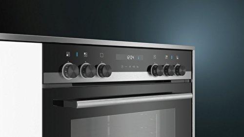 Siemens HE517ABS1 - Horno (Medio, Horno eléctrico, 71 L, 71 L, 50-275 °C, Negro, Acero inoxidable): Amazon.es