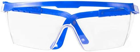 Artibetter Plastic Clear Veiligheidsbril Splash Proof Anti Fog Goggles Beschermende Eyewears Oogschild voor Outdoor Bescherming Blauw