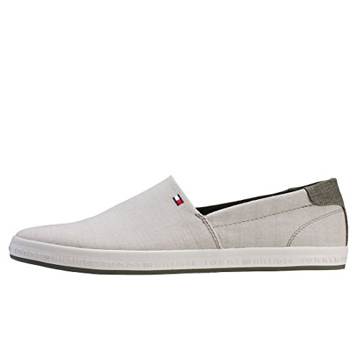 Denim Slip Tommy Hilfiger Zapatillas on Gris Zapatillas OTRwxnR
