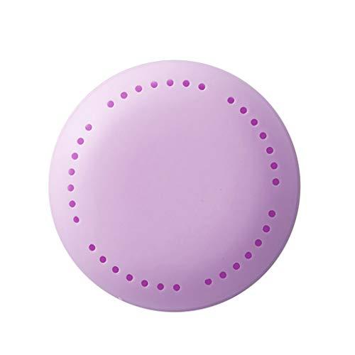 charts_DRESS Flowery Scents Sachet Wardrobe Drawer Closet Car Perfume Fragrance Air Freshener (Purple)