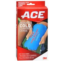 ACE Cold Compress Reusable Large 1 Each (Pack of 2)