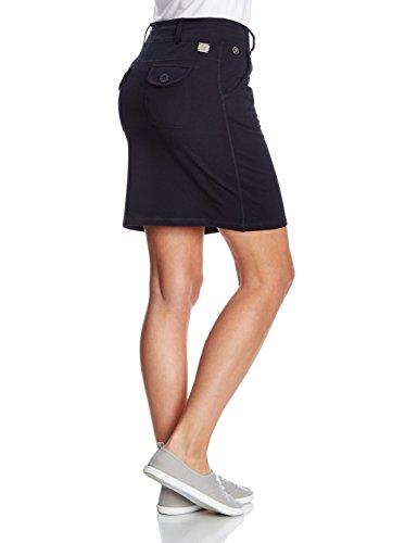 XFORE Falda corta deportiva Tampa para mujer con cordones, de color azul oscuro