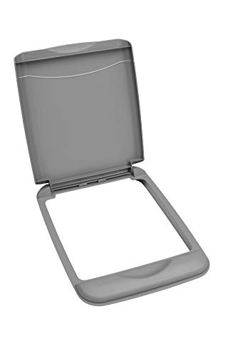 Rev-A-Shelf - RV-35-LID-17-1 - 35 Qt. Silver Waste Container Lid