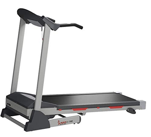 Sunny Health & Fitness SF-T7603 Electric Treadmill w/ 9 Programs, 3 Manual Incline, Easy Handrail Controls & Preset Button Speeds, Soft Drop System by Sunny Health & Fitness (Image #15)