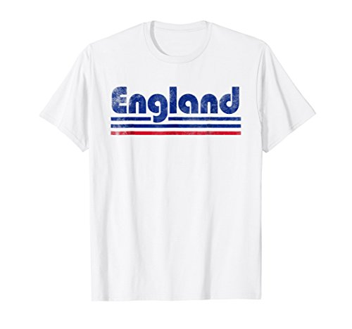 2018 England Fan Retro Vintage Flag T-Shirt