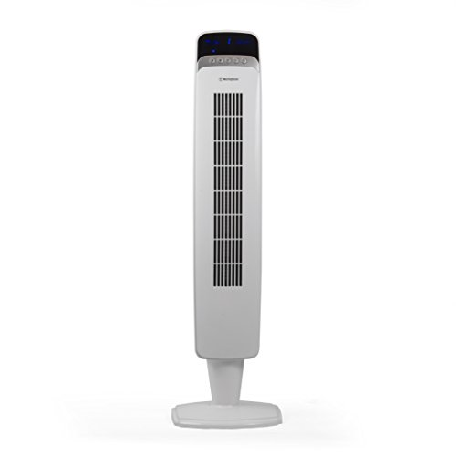 "Westinghouse 40"" Tower Fan w/ Remote, White"