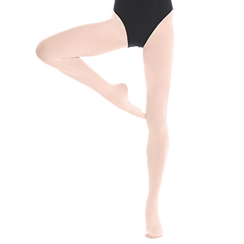 7cd9797ca Ballet Tights Pink Footed Dance Tights white and Black for Girls kids Women