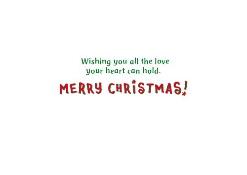 Avanti Press Christmas Cards, All The Love Your Heart Can Hold, 100 Count Value Pack (32578)
