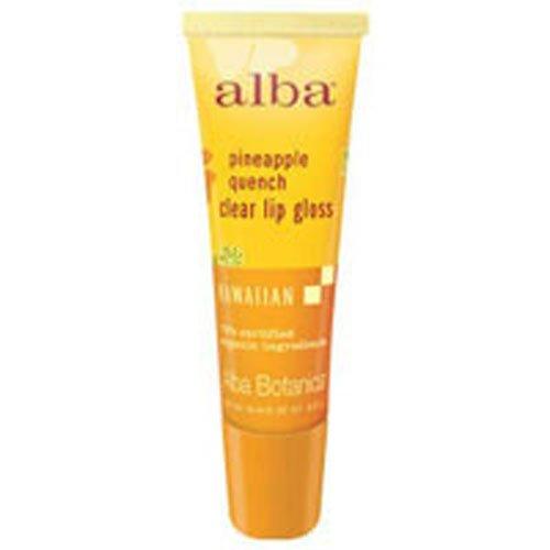 Alba Botanica Hawaiian Clear Lip Gloss Pineapple Quench -- 0.42 ()