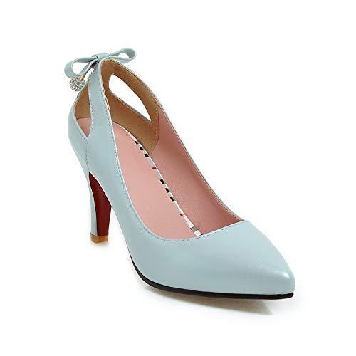 Bleu APL10737 Femme BalaMasa 5 Sandales Compensées Bleu 36 SCxqI
