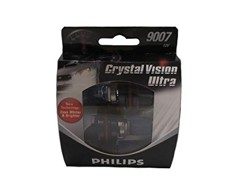 Philips 9007 Crystal Vision Ultra Headlight Bulb Pack Of 2