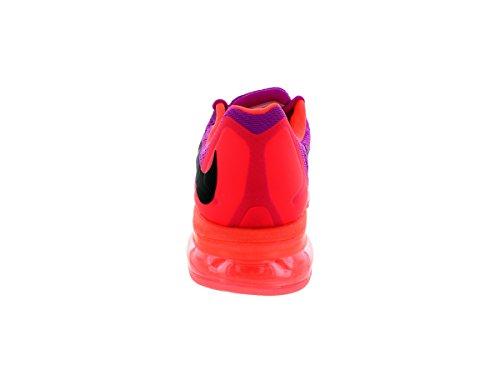 Fuchsia black Zapatos Lava Mujer hot Nike Flash Air Max Para Correr Wmns 2015 qpT86Uw