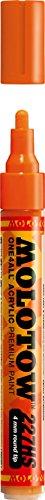 ONE4ALL Urban Fine Art Paint Markers, 4 mm, Dare Orange