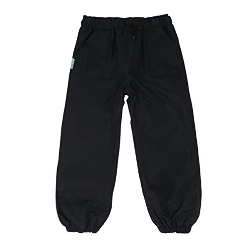 JAN & JUL Kids Water-Proof Soil-Repellent Puddle-Dry Rain Pants for Girls Boys