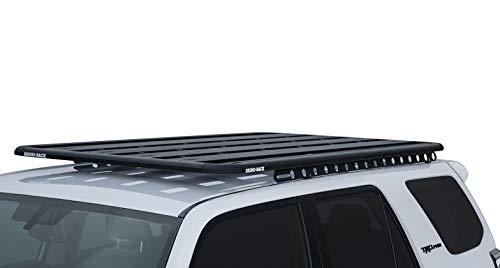 (Rhino-Rack USA JA9965 Pioneer Platform Roof Rack Tray Incl. Mount Kit 84 in. x 49 in. 4 Planks Incl. Cross Bar Assembly Required Pioneer Platform Roof Rack Tray)