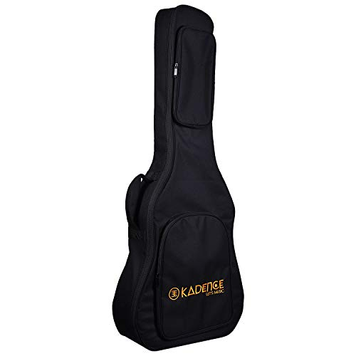 Kadence-XA-Series-Heavy-Padded-Acoustic-Guitar-Bag-with-Neck-Support