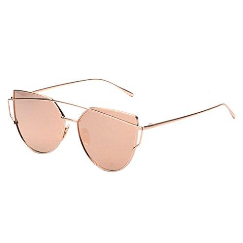 dbce4b5a26 Eye Deylaying 0ces Mirrored Protection 5~ 6 Pas Lentilles Sont Femmes Cat  Lunettes Goggles0 Cadre De Uv LectureOr Vendange Myopie Soleil ...