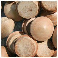 Cherry Wood Plugs End - WIDGETCO 5/8