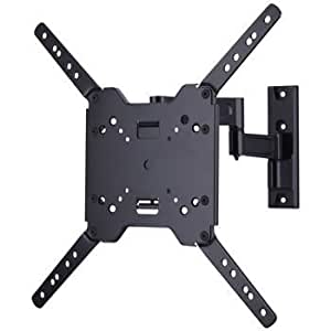 sanus simplicity full motion and ultrathin tv wall mount. Black Bedroom Furniture Sets. Home Design Ideas