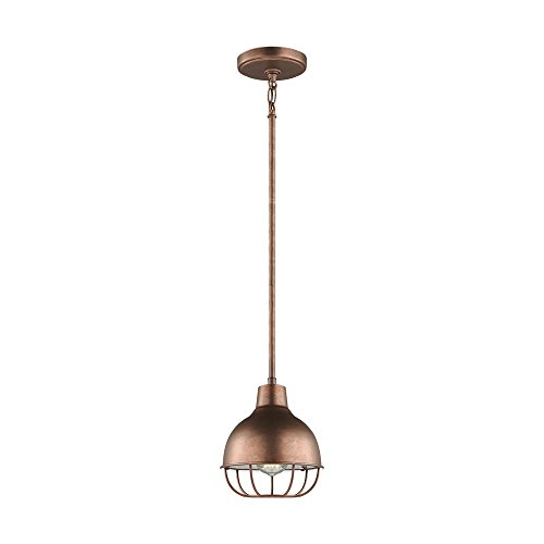 Sea Gull Lighting 6146501-44 Jeyne Pendant, 1-Light 60 Watts, Weathered Copper by Sea Gull Lighting
