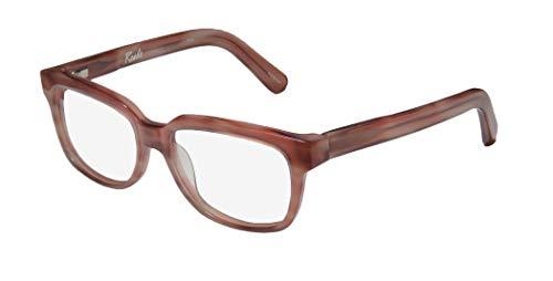 Elizabeth And James Reade Womens/Ladies Rx Ready Unique Design Designer Full-rim Flexible Hinges Eyeglasses/Eye Glasses (52-16-140, Dirty Pink) (52 16 140 Brille)