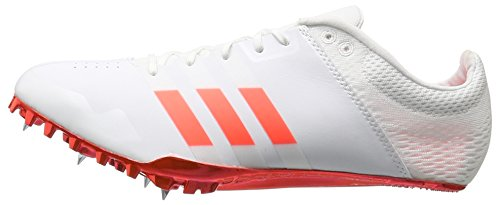 adidas Adizero Finesse Track Shoe, White/Solar Red/Tech Silver Metallic, 9.5 M US by adidas (Image #5)