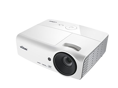 Vivitek DH558 3000 Lumen 1080p Full HD 3D DLP Home Theater Projector with MHL HDMI
