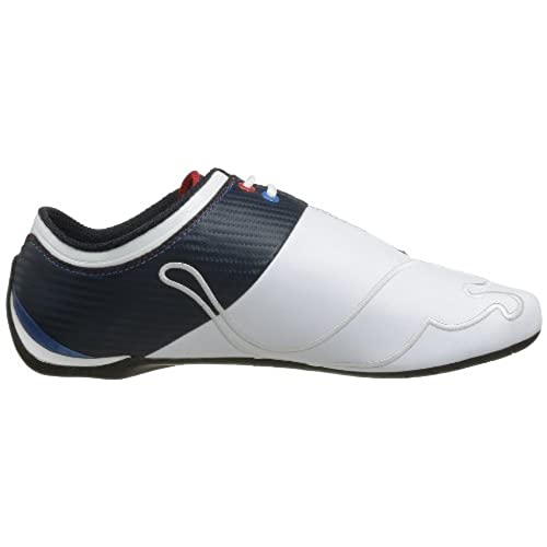 Puma Future Cat M1 Big Bmw Nm, Baskets mode homme, Blanc-Bleu marine, 42.5 EU