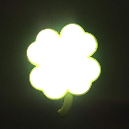 BlueSunshine Sensor Led Night Light, Plug-in LED Cloud or Clover Dream Bed Lamp (Clover) from BlueSunshine