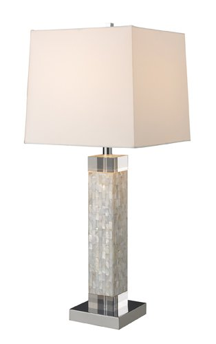 Dimond D1412 Luzerne Table Lamp, Mother Of (Modern White Mother Of Pearl)