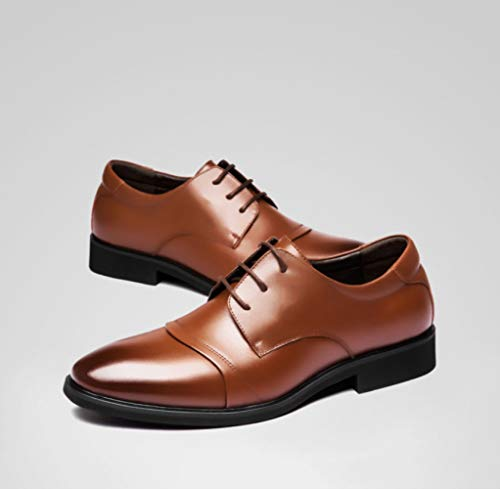 nera scarpe in uomo uomo da vestito casual Marrone uomo uomo lavorano da per pelle scarpe da pelle WFL Le in lavorare uomo da da d'affari uomo le da casual 56wWatgStz