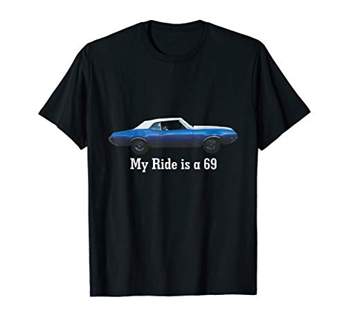 Oldsmobile Cutlass 1969 Convertible Classic Car T-Shirt