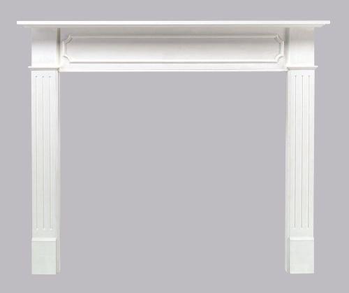 Pearl Mantels 520-48 Berkley 48-Inch Paint Grade Fireplace Mantel, White