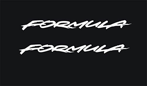 - Pontiac Formula Trans Am Door Handle Decals (White)