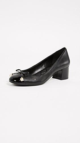 de 2018 Gia Primavera Tacón Mujer KORS Zapatos Negra Verano con Bailarina MICHAEL WxEnzP0W