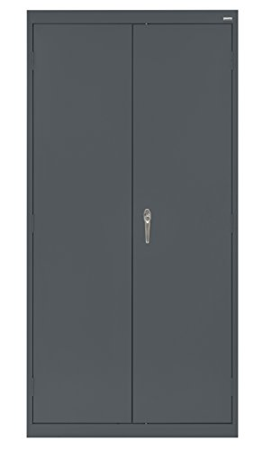 Buddy Products Welded Steel Classic Storage Cabinet, Charcoal (CA41361872-02BP) ()