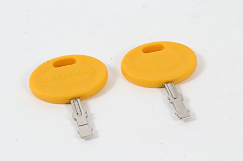 2 Pack Genuine MTD 925-2054A Ignition Key Fits Cub Cadet Col