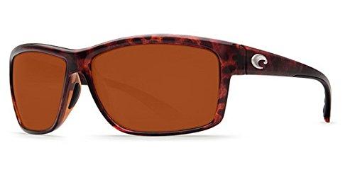 Costa Del Mar Mag Bay Sunglasses, Tortoise, Copper 580P Lens ()